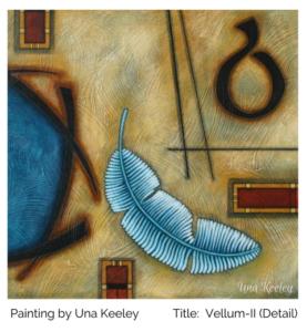 Una Keeley Painting