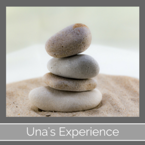 MBSR Mindfulness Instructor Una Keeley's Experience