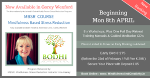 MBSR-Course-Gorey-Wexford-Bodhi-Clinic-Una-Keeley-April-2019