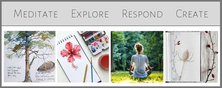 Meditate-Explore-Respond-Create