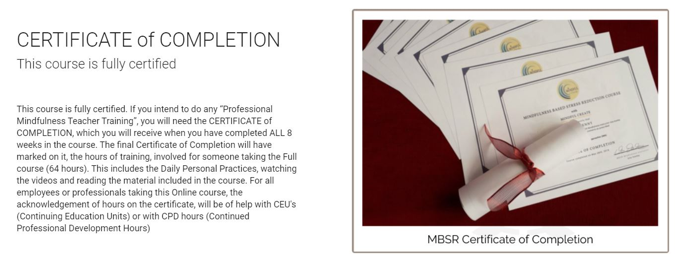MBSR-Online-Certificate-of-Completion-with-Una-Keeley