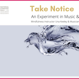 NCH National Concert Hall Commissions New Mindfulness & Music Listening Track